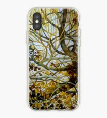 yellow leaves iPhone Case