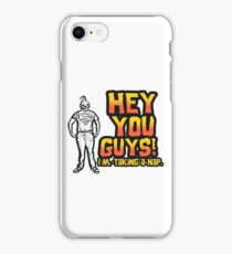 Sloth Goonies: Hey you Guys! I'm taking a nap. iPhone Case/Skin