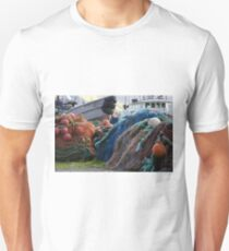 Dutch Harbor Fishing Nets and Boats Unisex T-Shirt