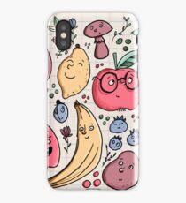 Fruits are friends iPhone Case/Skin