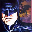 """Alex Ross """"Tribute"""" BATS COVER by Pat McNeely"""