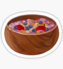 acai bowl Sticker