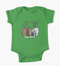 Lions Tiger and Bear Oh My One Piece - Short Sleeve