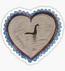 The Lochness Sweetheart Sticker