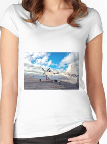 Still Ready Women's Fitted Scoop T-Shirt