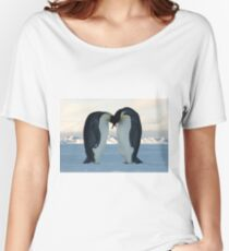 Emperor Penguin Courtship Women's Relaxed Fit T-Shirt