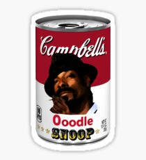 Ooodle Snoop : Can 01 Sticker