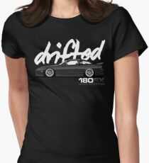 Drifted 180sx Tee - KH3 Edition by Drifted Women's Fitted T-Shirt