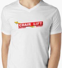 Nobby Beach Chairlift Men's V-Neck T-Shirt