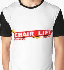 Nobby Beach Chairlift Graphic T-Shirt