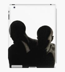 Charcoal Male Silhouette  iPad Case/Skin