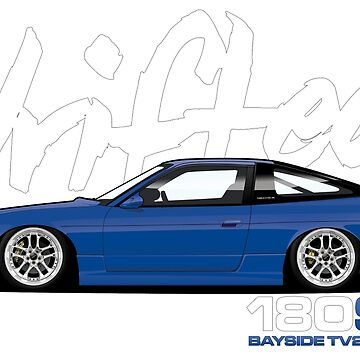 Drifted 180sx Tee - Bayside TV2 Edition by Drifted by driftedshop