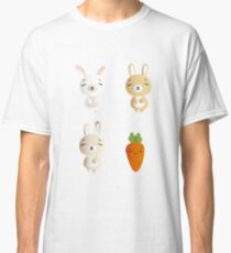 Bunnies and carrot Classic T-Shirt