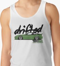 Drifted 180sx Tee - ARMY Edition by Drifted Tank Top