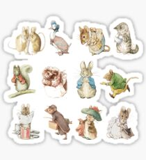 Beatrix potter Sticker