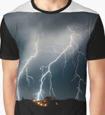 Twin Strikes over Club Capricorn, Yanchep, Western Australia Graphic T-Shirt