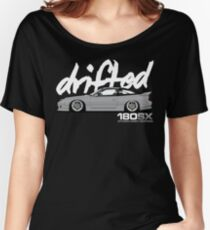 Drifted 180sx Tee - Storm Grey Edition by Drifted Women's Relaxed Fit T-Shirt