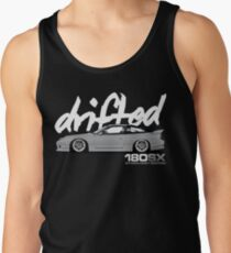 Drifted 180sx Tee - Storm Grey Edition by Drifted Tank Top