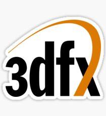 3dfx Sticker