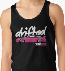 Drifted 180sx Tee - Hot Pink Edition by Drifted Tank Top
