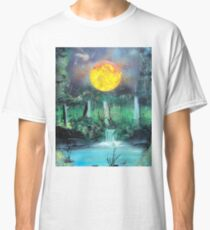 Spray Paint Art- Scorching Sun Classic T-Shirt