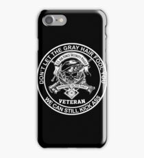 Veteran - United States Air Force Security Forces iPhone Case/Skin