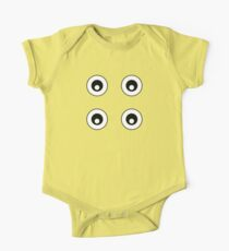 Cartoon Eyes Pattern Kids Clothes