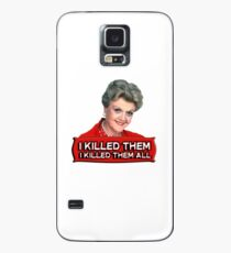 Angela Lansbury (Jessica Fletcher) Murder she wrote confession. I killed them all. Case/Skin for Samsung Galaxy