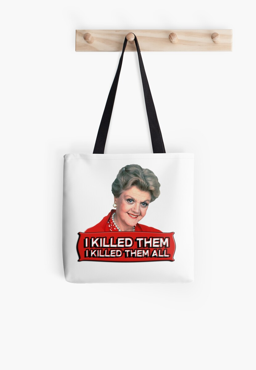 Angela Lansbury (Jessica Fletcher) Murder she wrote confession. I killed them all. by King84
