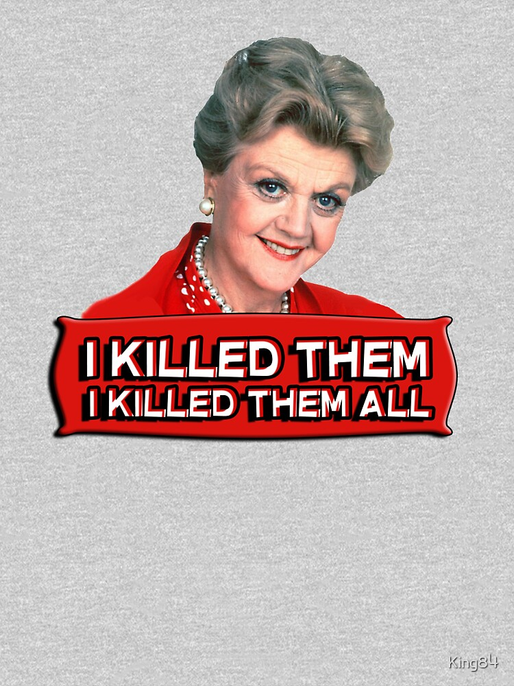 Angela Lansbury (Jessica Fletcher) Murder she wrote confession. I killed them all. von King84
