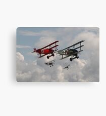Fokker Squadron - 'Contact' Canvas Print