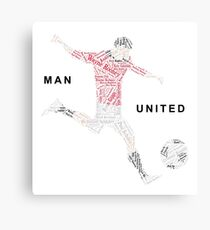 Man United Gift - Top Scorers Canvas Print