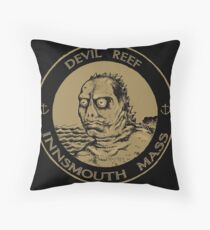 Devil Reef Innsmouth Mass Throw Pillow