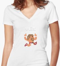 Yes! Yes! Yes! Women's Fitted V-Neck T-Shirt