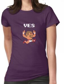 Yes! Yes! Yes! Womens Fitted T-Shirt