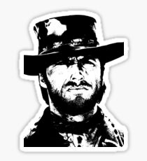 Clint Eastwood -Blondie Sticker