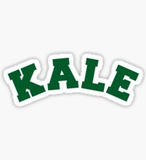 Kale University Sticker