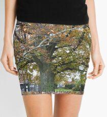 Tree, City Park, Launceston, Tasmania Mini Skirt