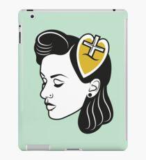 fresh from the barbershop: 50s girl iPad Case/Skin
