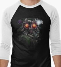 Legend of Zelda Majora's Mask Dark Link Men's Baseball ¾ T-Shirt