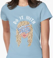 Do it with Flair Womens Fitted T-Shirt
