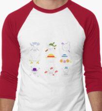 one piece symbol Men's Baseball ¾ T-Shirt