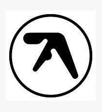 Aphex Twin Logo Photographic Print