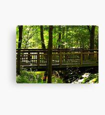 The Quiet Bridge Canvas Print