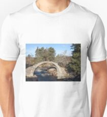 Old Packhorse Bridge, Carrbridge Unisex T-Shirt