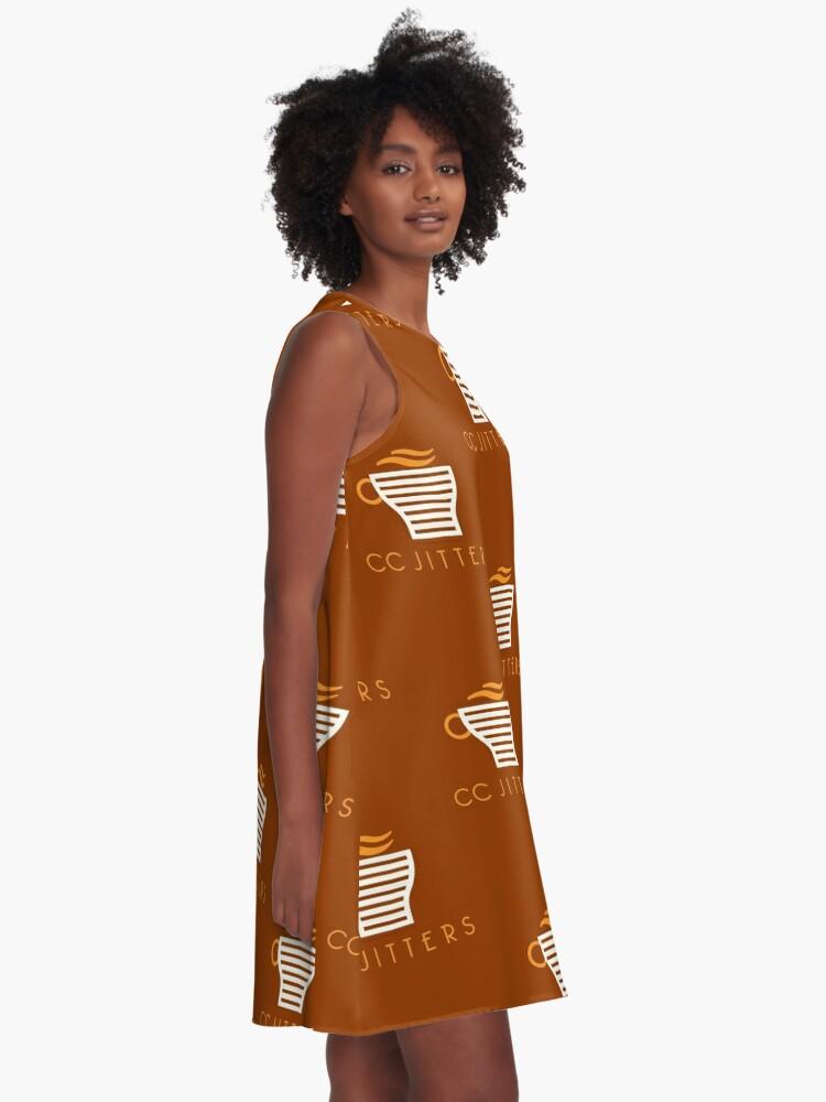Alternative Ansicht von CC Jitter A-Linien Kleid