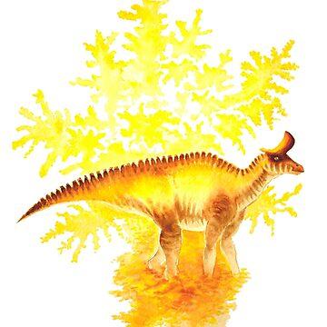 Lambeosaurus by irimali