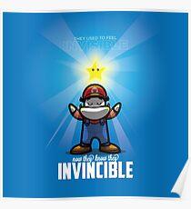 Super Mario X Kanye Invincible MashUp Poster