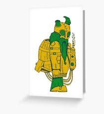 BEER DWARF Greeting Card