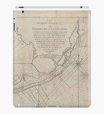 Vintage Map of The Florida Keys (1771) (2) iPad Case/Skin